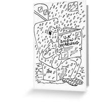 Snow,snow,snow. Greeting Card