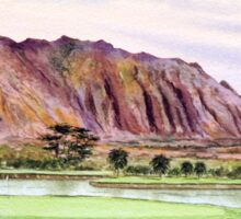Koolau Golf Course Hawaii  Sticker