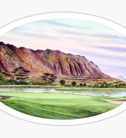 Koolau Golf Course Hawaii  Sticker