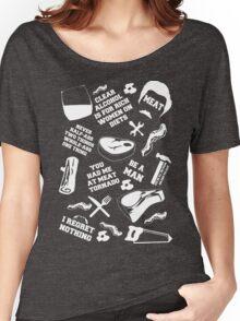 Ron Swanson Fanboy/Fangirl Women's Relaxed Fit T-Shirt