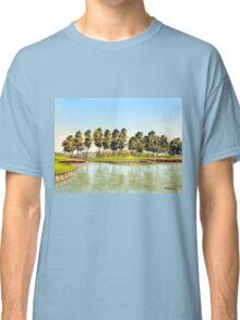 Sawgrass Golf Course Hole 17 Classic T-Shirt