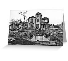 The Castle In Virginia City Greeting Card