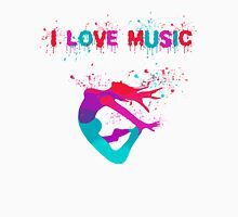 I LOVE MUSIC Unisex T-Shirt