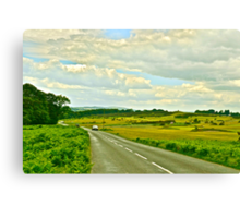 Road Through Dartmoor Canvas Print