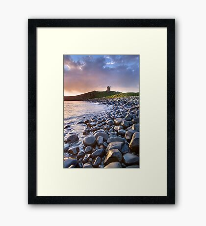 Dunstanburgh Castle Dawn Framed Print