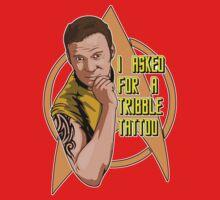 Tribble tattoo Baby Tee