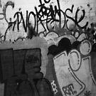 graffiti black n' white by YourHum