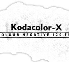 Kodacolor-X Sticker