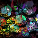 3D Bubble Garden by wolfepaw