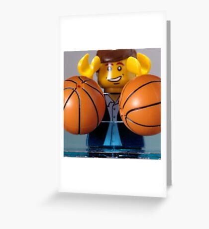 Koons' Balls Greeting Card