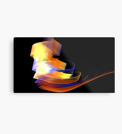 Orange Caldera Metal Print
