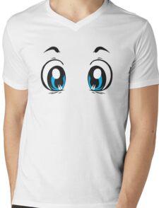 Kawaii-Eyes 1 Mens V-Neck T-Shirt