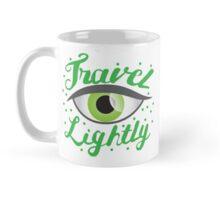 Travel Lightly with green Belladonna eye Mug