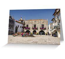 Praça da República - North view Greeting Card