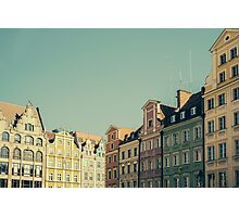 Wroclaw Architecture Photographic Print