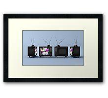 TV Series // 01 Framed Print