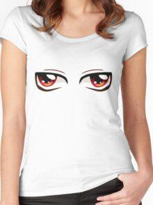 Kawaii-Eyes 3 Women's Fitted Scoop T-Shirt