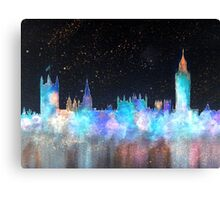 Westminster And Big Ben Cosmos Canvas Print