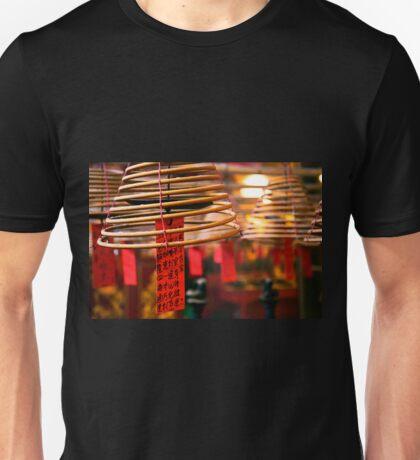 Burning Incence Unisex T-Shirt