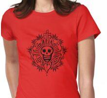 dia de los muertos Womens Fitted T-Shirt