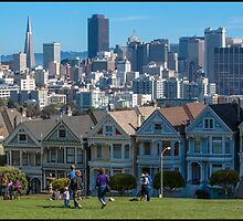 The Painted Ladies by asainter