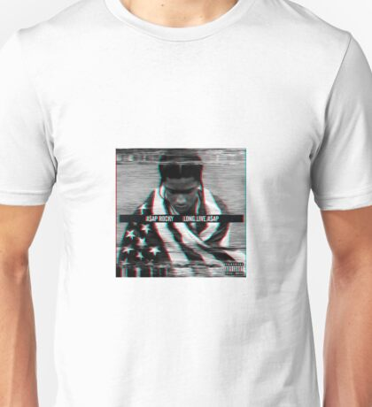 ASAP Rocky Long. Live. ASAP Album Design Unisex T-Shirt