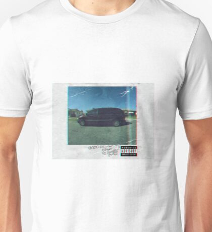 Kendrick Lamar good kid, m.A.A.d city Album Design Unisex T-Shirt