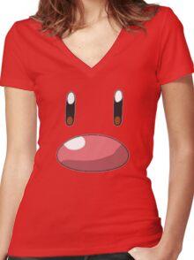 Diglett Women's Fitted V-Neck T-Shirt