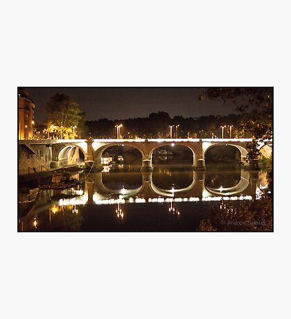 Reflections of Rome Photographic Print