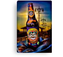 Coney Island Beer Canvas Print