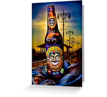 Coney Island Beer Greeting Card