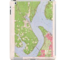 USGS Topo Map Washington State WA Gig Harbor 241267 1959 24000 iPad Case/Skin