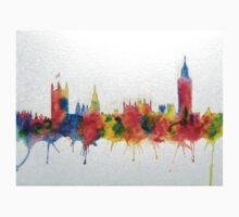Westminster And Big Ben Skyline Kids Tee