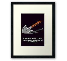 Monkey Island - Spade, shovel  Framed Print