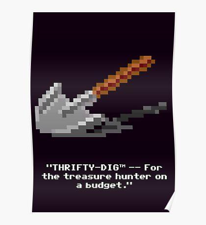 Monkey Island - Spade, shovel  Poster
