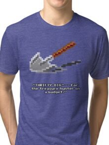 Monkey Island - Spade, shovel  Tri-blend T-Shirt