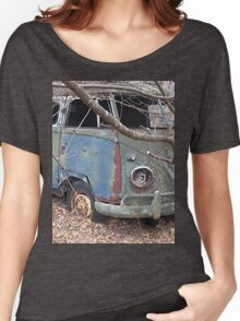 Weathered Old Hippie Bus Women's Relaxed Fit T-Shirt