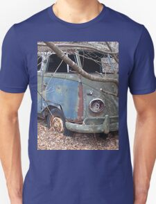 Weathered Old Hippie Bus T-Shirt
