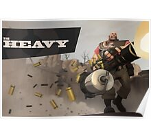 Team Fortress 2 - The Heavy Poster