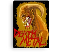 Death Metal Monster Canvas Print
