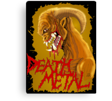 Death Metal Monster Canvas Print