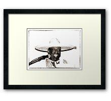Jimmy Mamou  Framed Print