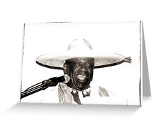 Jimmy Mamou  Greeting Card