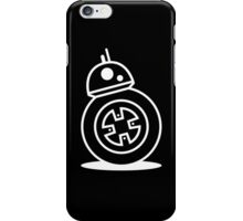 Star Wars: The Force Awakens BB-8 Symbol (White Edition) iPhone Case/Skin