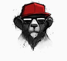 Cool Bear with Red Hat - Streetwear Style Design Unisex T-Shirt