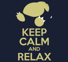 Keep Calm Snorlax by MutantNoodles