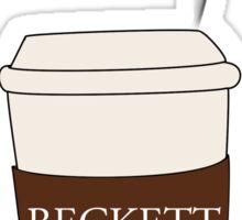 Beckett coffee Sticker