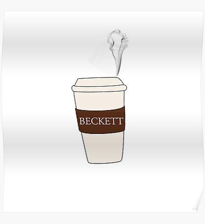 Beckett coffee Poster