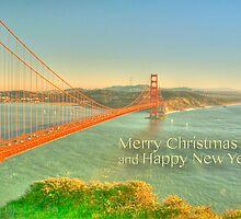 Merry Christmas Greetings from San Francisco by abuller