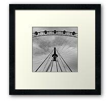 Five Eyes of London Framed Print